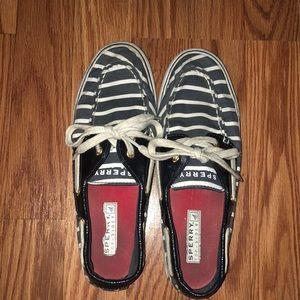 Striped sperrys